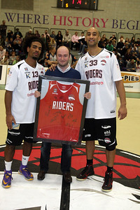 Riders v Leeds BBL Trophy Jan 17th 2015 Sir David Wallace Centre, Loughborough © Paul Davies Photography 2015  NO UNAUTHORISED USE