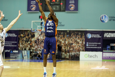 Worcester Wolves v Newcastle Eagles BBL SF2 May 05 17 ©Paul Davies Photography NO UNAUTHORIZED USE