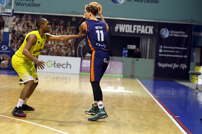 Worcester v Sheffield BBL April 21st 2017 ©Paul Davies Photography NO UNAUTHORIZED USE