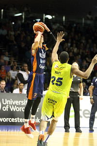 Worcester Wolves v Sheffield Sharks BBL QF2 April 30th 2017 ©Paul Davies Photography NO UNAUTHORIZED USE