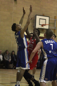 Chanwood Riders v Derby Trailblazers EBL U18 Jan 14 2017 ©Paul Davies Photography
