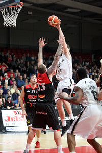 Leicester Riders v Newcastle Eagles December 9th ©Paul Davies Photography
