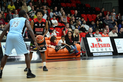 BBL 2016/17  Leicester Riders v Surrey Scorchers LCSA October 09th 2016