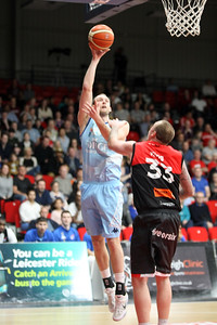 Leicester Riders v Glasgow Rocks BBL March 26th 2017 ©Paul Davies Photography NO UNAUTHORIZED USE