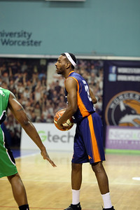 Worcester v Plymouth BBL Trophy SF2  Feb 24th 2017 ©Paul Davies Photography NO UNAUTHORIZED USE