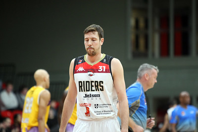 BBL Cup Leicester v London 28th Oct 2017 ©Paul Davies Photography NO UNAUTHORIZED USE
