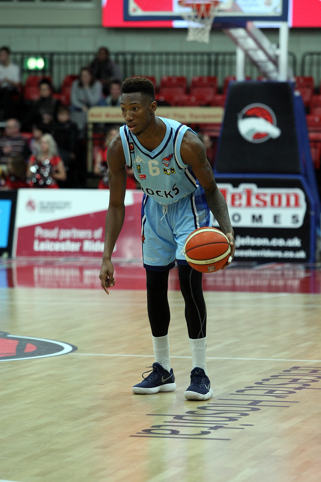 BBL Leicester v Glasgow Dec 20th<br /> ©Paul Davies Photography<br /> NO UNAUTHORIZED USE