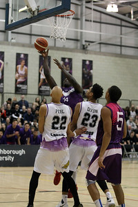 BBL Trophy QF Loughboro v London Sir David Wallace Centre, Loughboro Jan 19th 2018 ©Paul Davies Photography NO UNAUTHORIZED USE