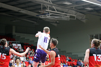 Leicester Riders v Portland Pilots Leicester Arena Aug 17th 2017 ©Paul Davies Photography NO UNAUTHORIZED USE