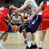 Leicester Riders v Portland Pilots<br /> Leicester Arena Aug 17th 2017<br /> ©Paul Davies Photography<br /> NO UNAUTHORIZED USE