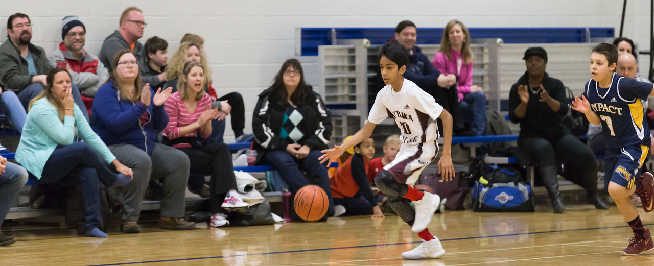 Basketball: Ottawa Next Level vs Kingston Impact
