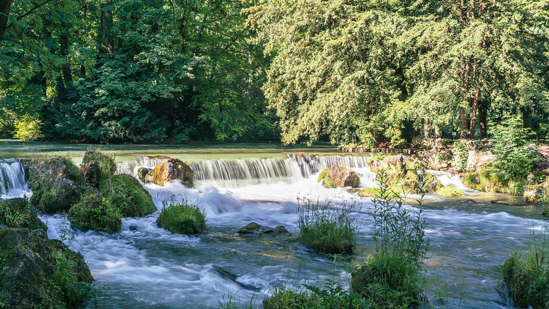 Eisbach, English Garden, Munich, Germany
