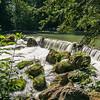 Waterfall Eisbach English Garden Munich