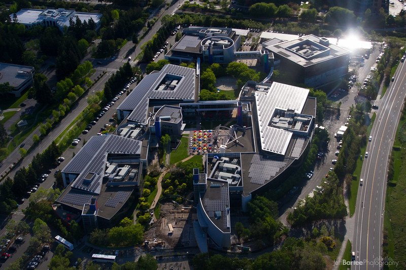 Google Campus Solar Panels