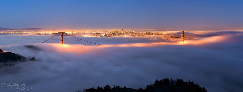 Bridges to the sky - San Francisco, CA