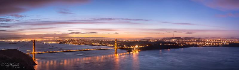 I left my heart in San Francisco - Bay Area from Hawk Hill, CA
