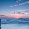 When the sky kisses the earth - San Francisco, CA