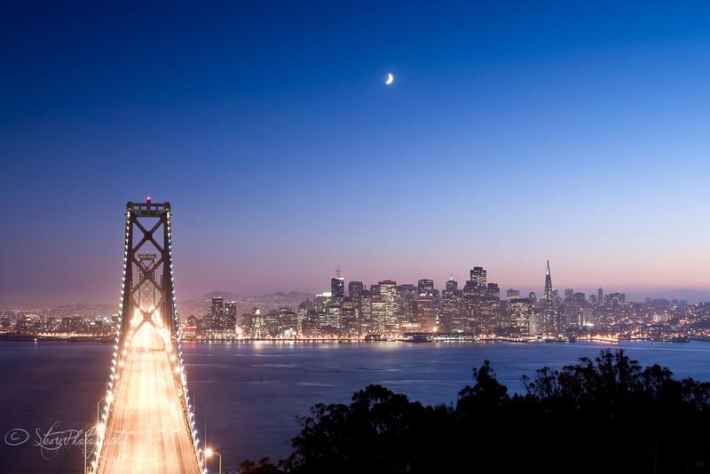 Above the Bay Bridge - San Francisco, CA