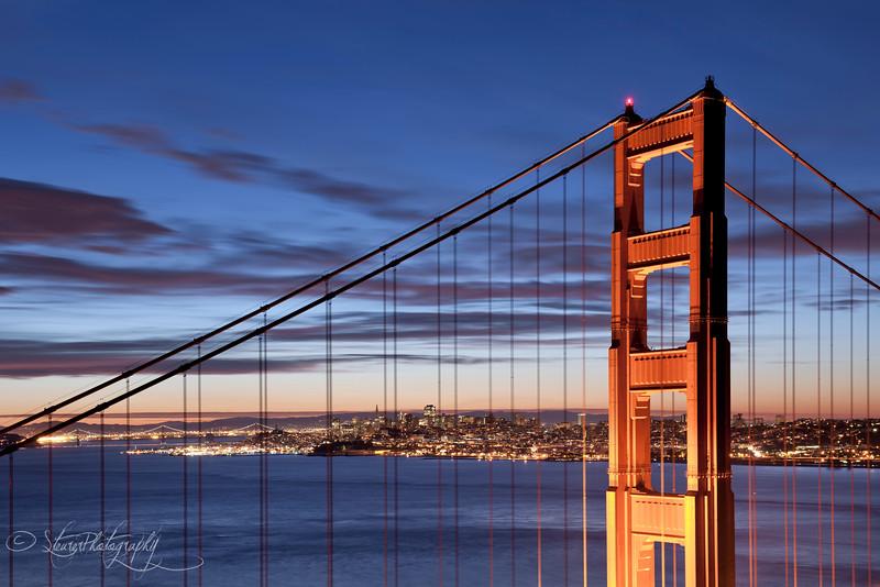 Morning has broken - San Francisco, CA