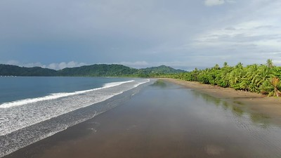 Tropical Paradise Tambor Beach, Costa Rica