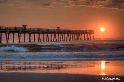JAX Bch at Sunrise - May 2016  -3