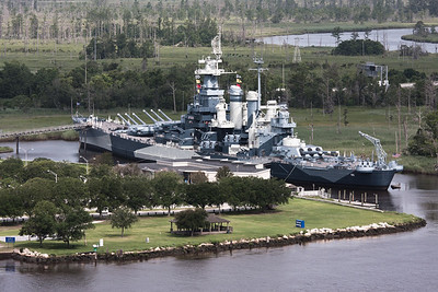Battleship USS North Carolina