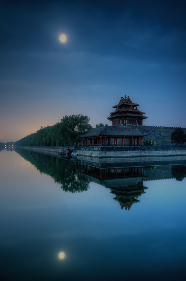 The Forbidden City at 5am