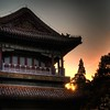 Sunset at Jingshan Park