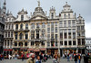 Guild halls of the Grand Place (Market Square) - Brussels