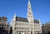 Town Hall  (Stadhuis in Dutch) and (Hotel de Ville in French) - at the Grand Place (Central Square) - Brussels