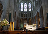 Sunshine upon the transept of the St. Michael and St. Gudula Cathedral - Brussels