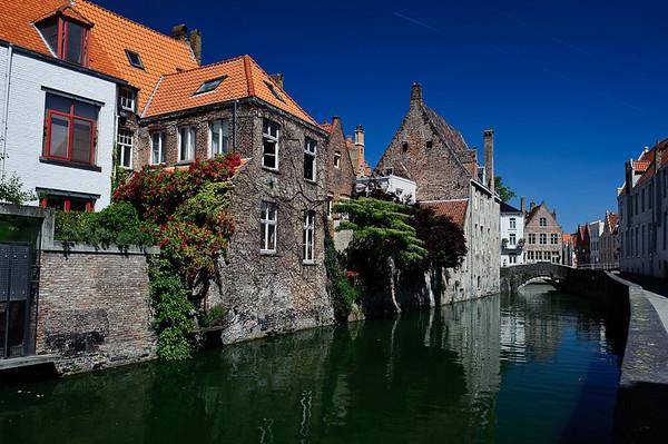 Houses along the Reien, Brugge, Belgium