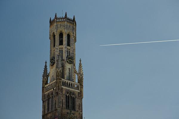 Belfort, Grote Markt, Brugge, Belgium