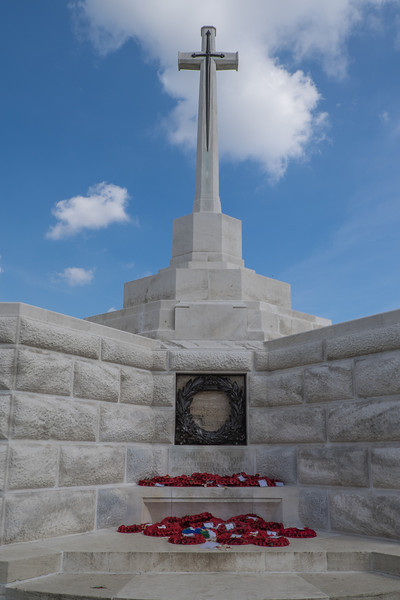 Tyne Cot cemetery remembrance