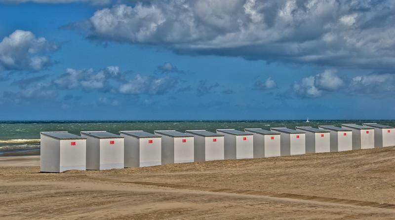 Belgian coast, Oostduinkerke, Belgium