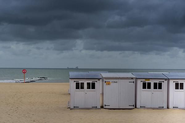 Beaufort 03 Art Exhibition-Beach huts Knokke-Heist-Belgium