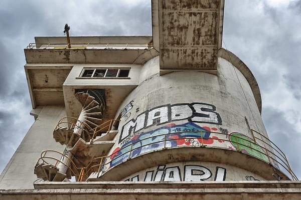 Disused Interbeton building, Gent Seaport