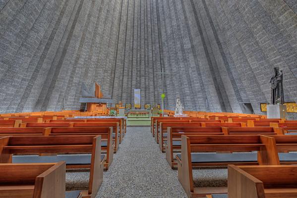 Sint Rita church, Zandberg-Harelbeke, Belgium