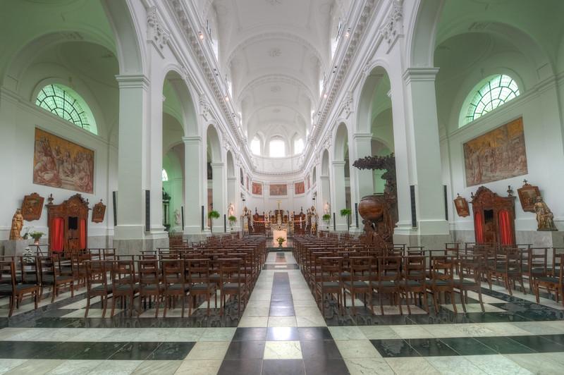 Sint-Salvators church Harelebeke-Kortrijk