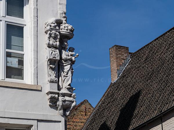 les facades à Bruges