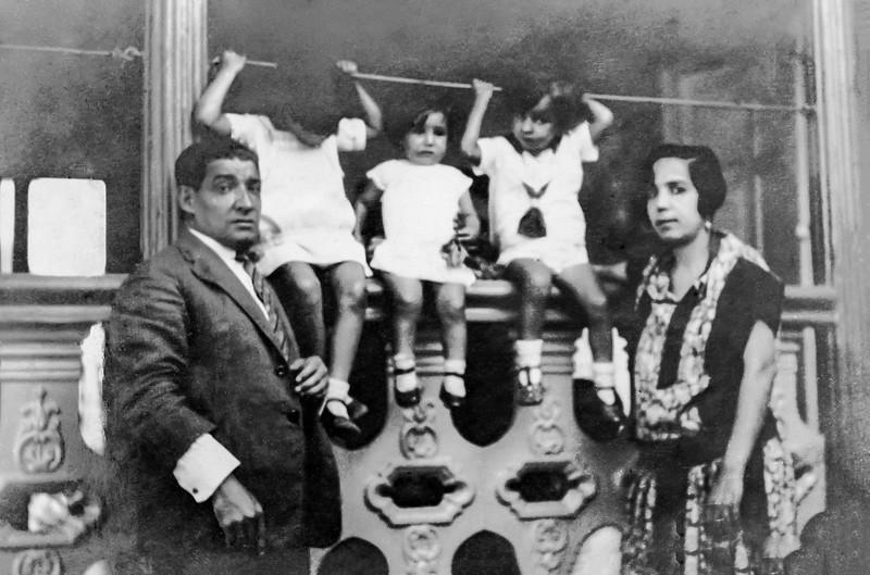 Abraham, Sol, Lea, Elias & Mamé - Caracas