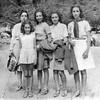 Mamé, Clairette, Sol, Alegria & Lea - 1940