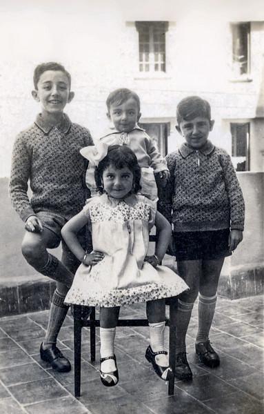Sam, Lisette, Eddie & Raphaël - May 1933