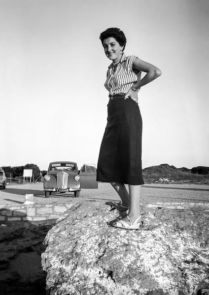 Alegria with the Triumph - 1952