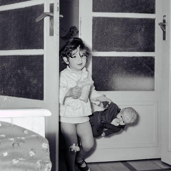 Mercedes - 1st photo of Pierrot - 1957