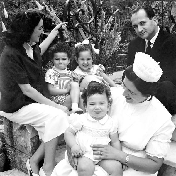 Alegria, 2 Mercedes, Vidal & Moise - 1956