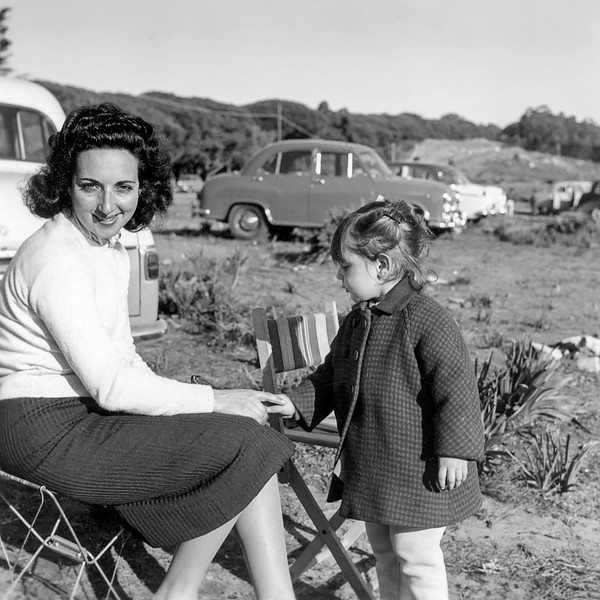 Sol & Mercedes - June 1957