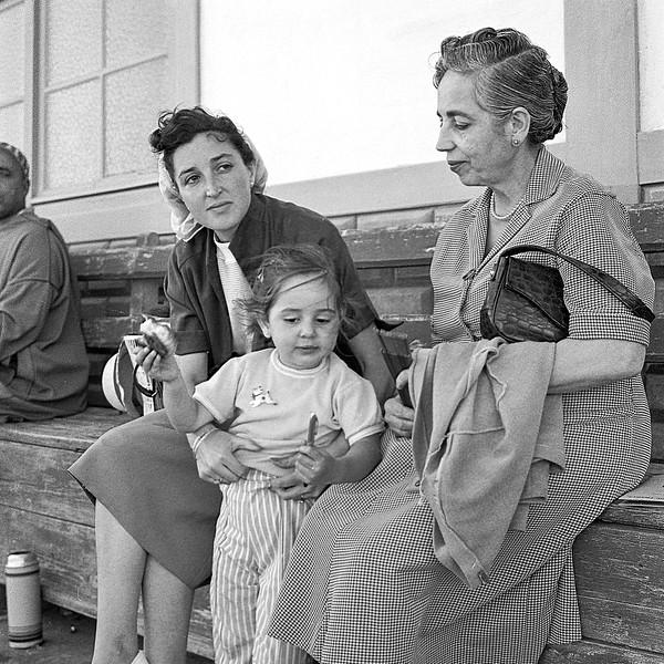 Alegria, Mercedes & Mamé - July 1957