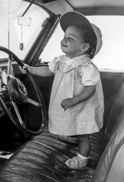Mercedes 'driving' - August 1955