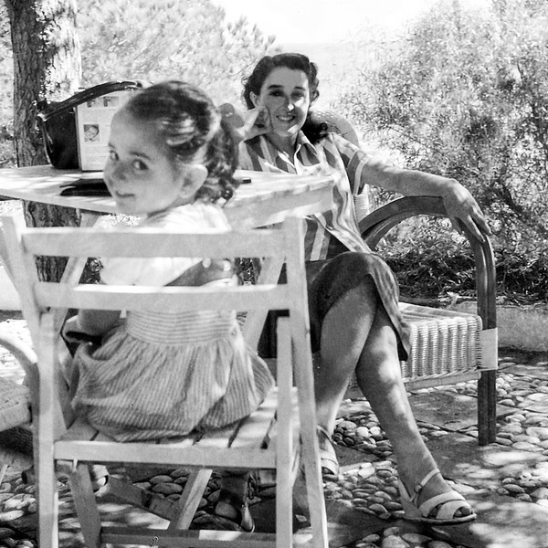 Mercedes & Alegria in Marbella, Spain - 1957